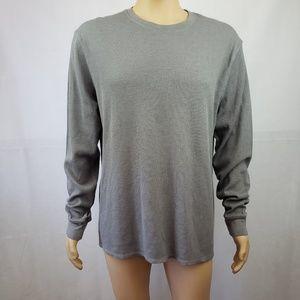 Levi's Gray Textured Long Sleeve Sweatshirt Sz XXL